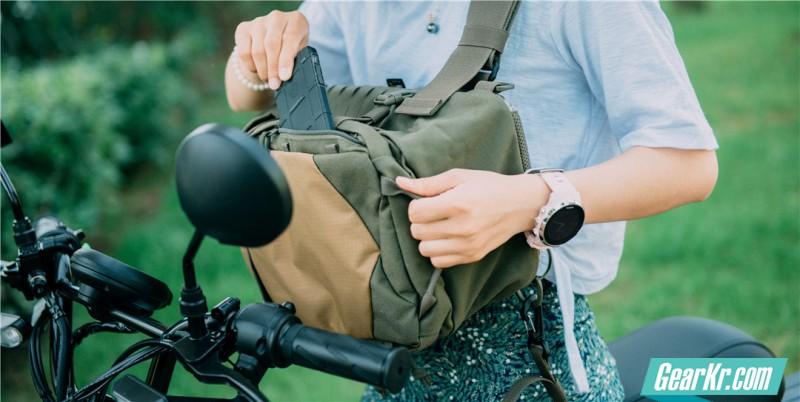 挎包+单车,好的不得了!——塔斯马尼亚虎12L战术斜挎包体验