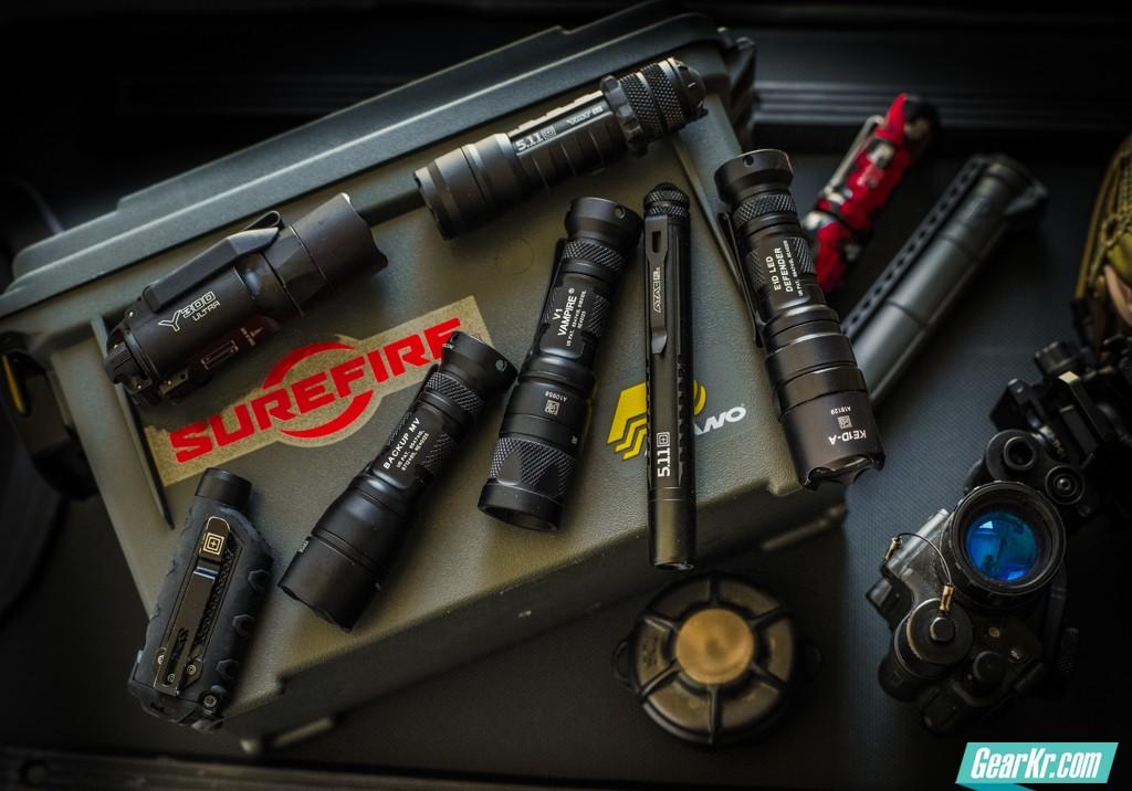 7款优秀的EDC备份战术手电(下):Surefire Y300U及5.11 Tactical