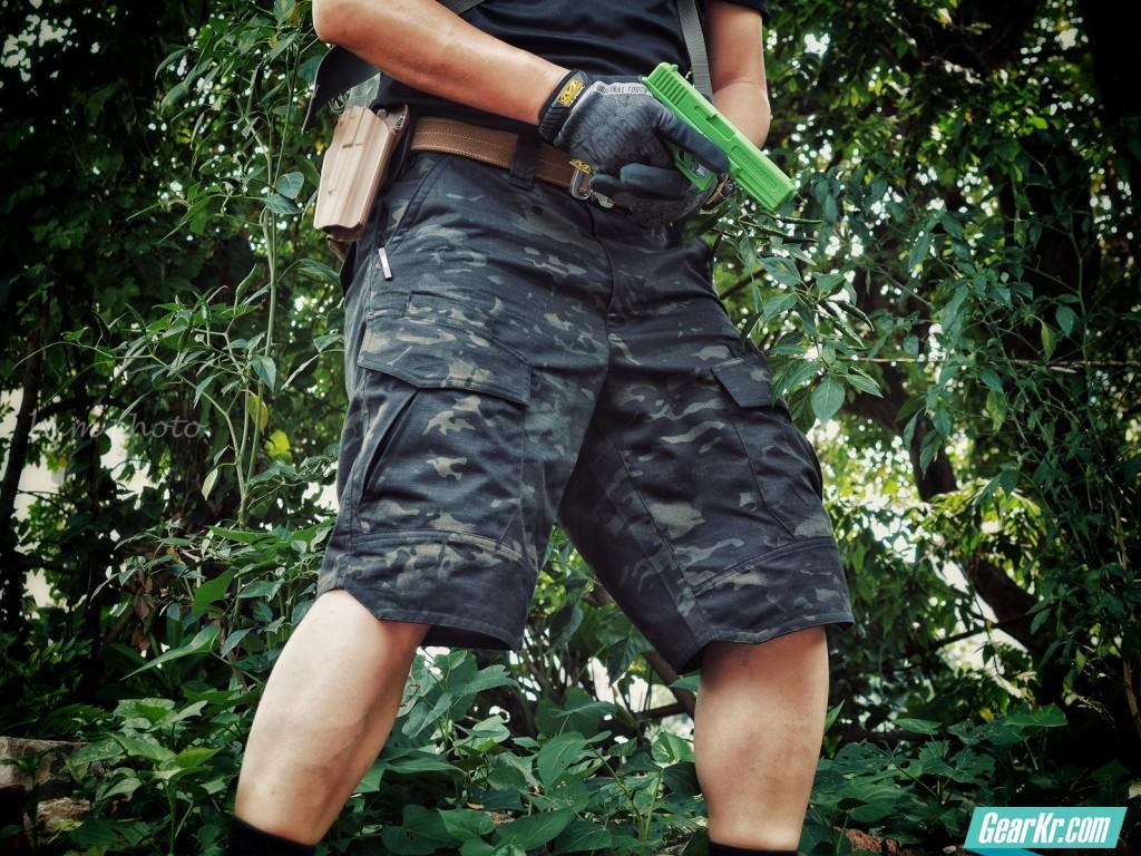 如何凉快的ZB?——龙牙二代MC迷彩短裤