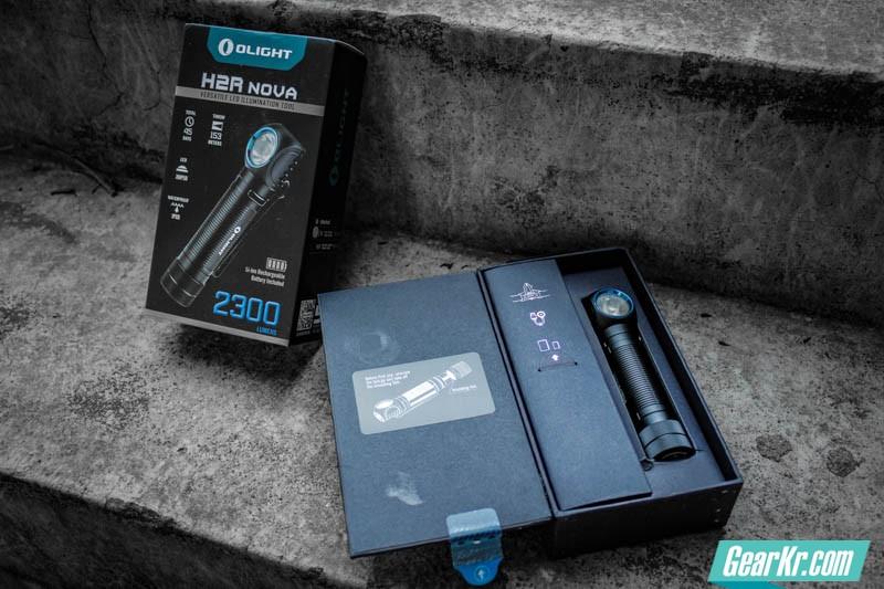 掌心妲己——OLIGHT H2R NOVA灵狐多用途可充电手电测评-5