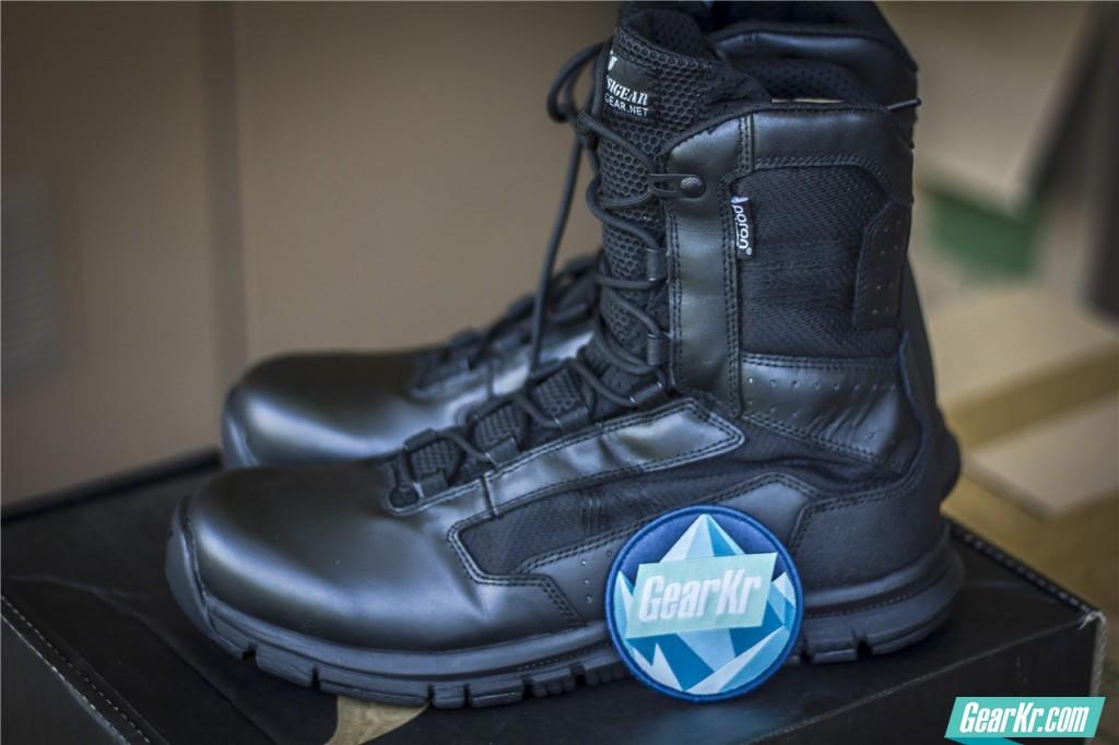 PSIGEAR PB03272系列八寸超轻城市作战靴测评