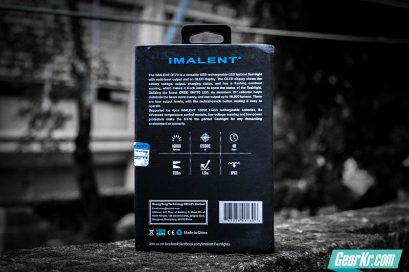 暗夜圣杯——IMALENT艾美能特DT70户外强光手电测评-3