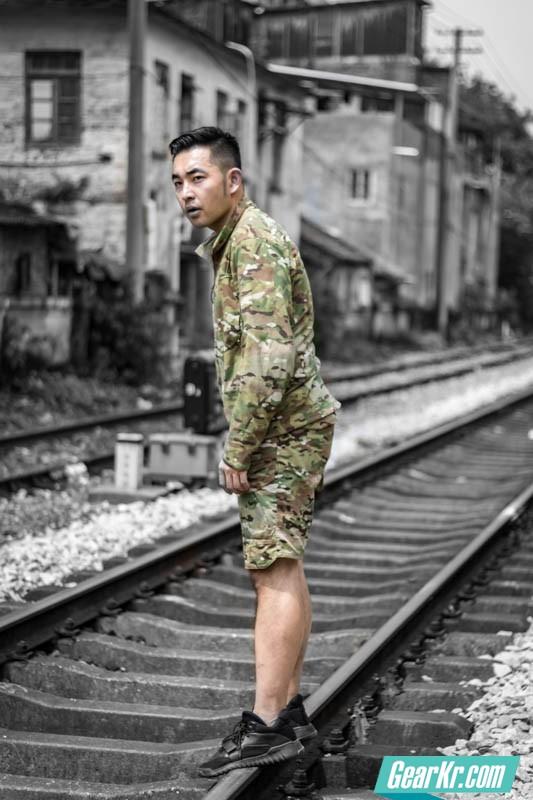 龙牙B4级利剑特战风衣迷彩版-33