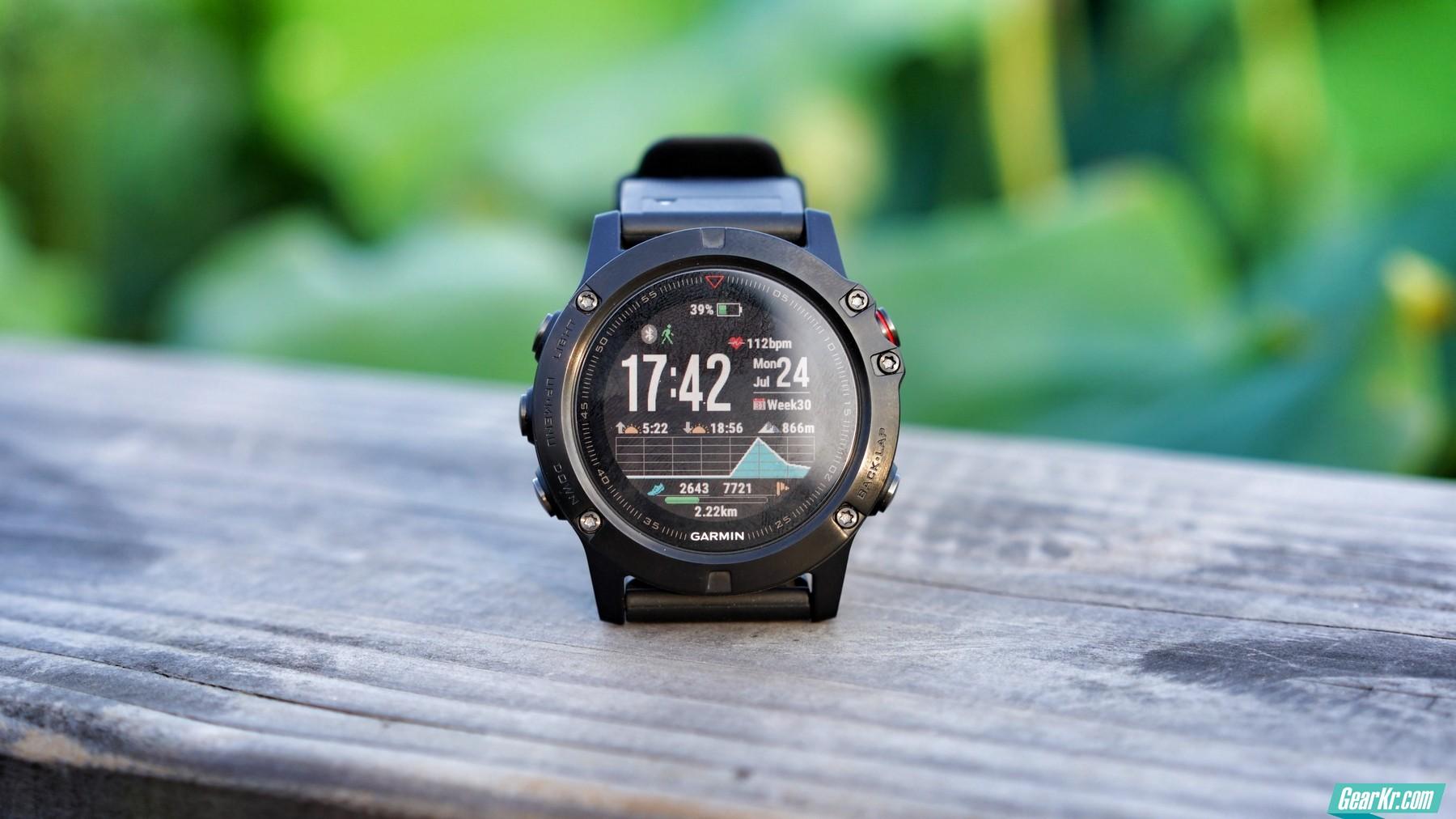 地表最强户外手表–佳明fenix5X