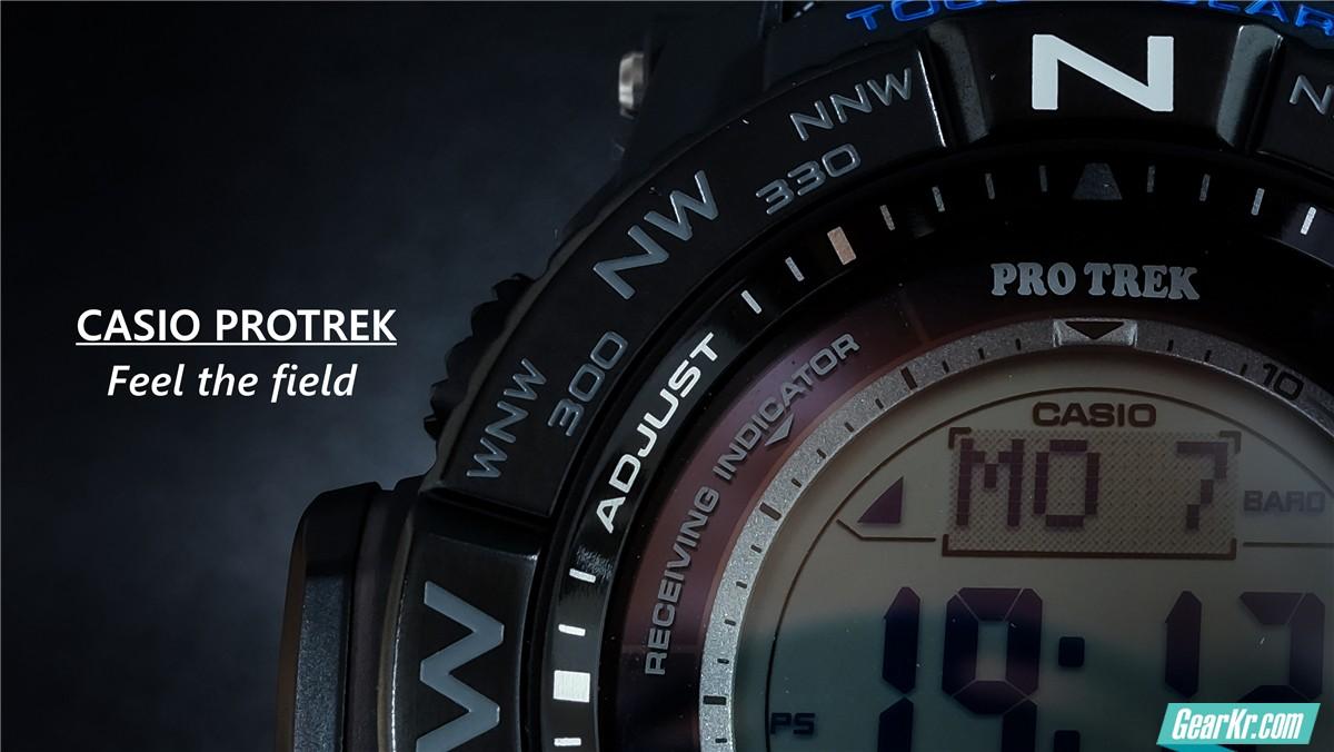 简简单单实用易懂Casio Protrek PRW-3510Y
