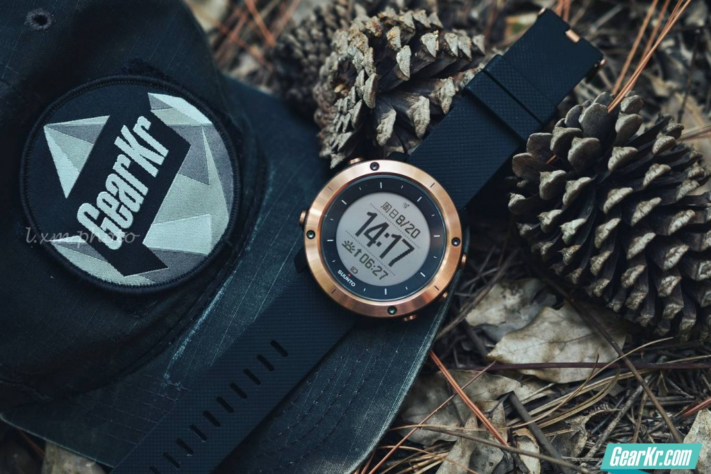SUUNTO TRAVERSE ALPHA COPPER——不仅仅是一块手表