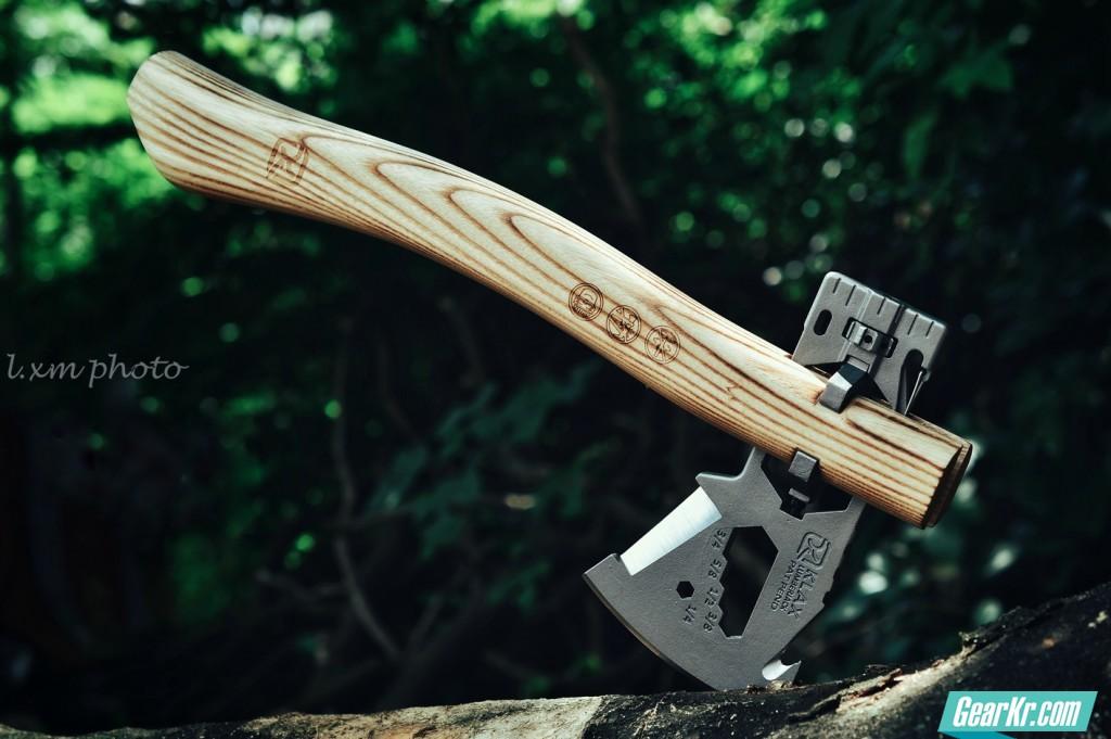 Klecker Knives—KLAX03伐木工多用工具斧评测
