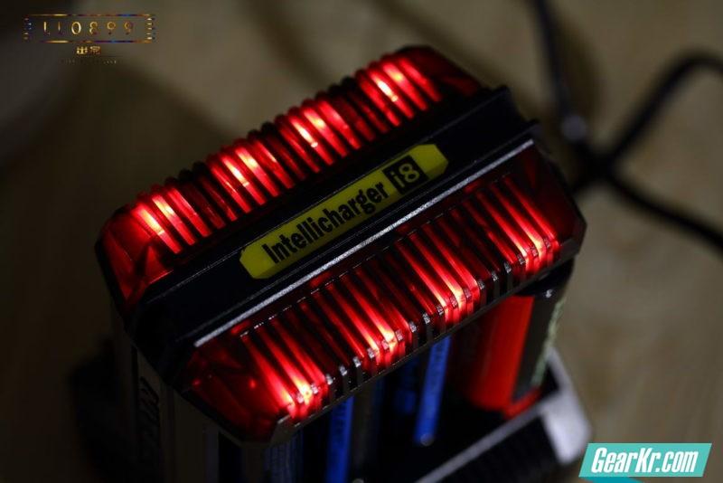 高性能8槽充电器NITECORE I8智能型充电器 LL0899出品