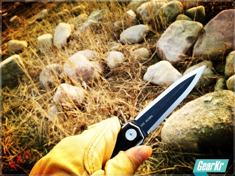 尽显宝剑锋芒-STEDEMON时代C05双刃折刀