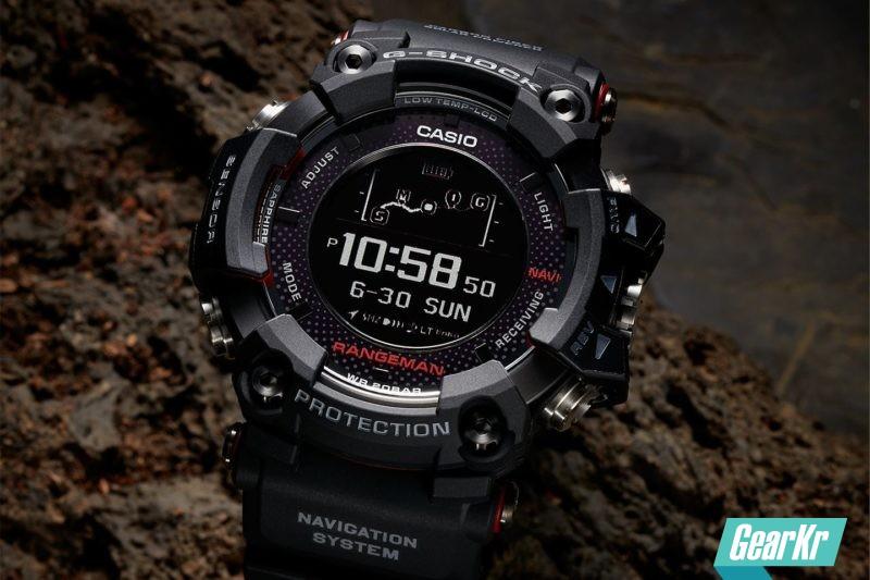 CASIO推出全球首款太阳能GPS导航腕表 — G-SHOCK GPR-B1000:日照4小时,导航1小时