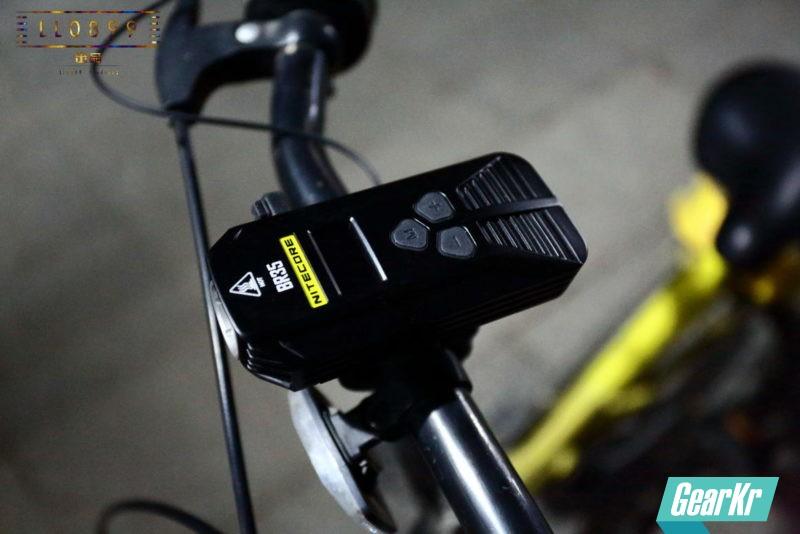 新一代双光切线骑行灯NITECORE BR35入手大评