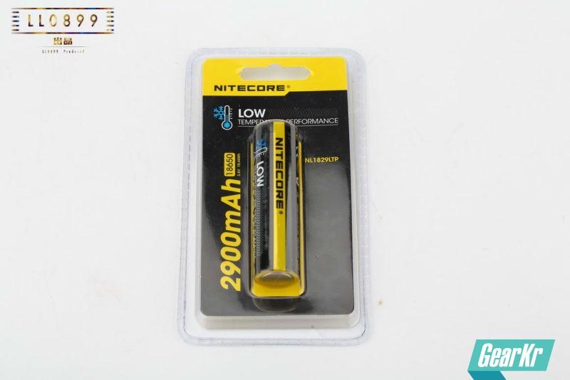 低温任我行NITECORE两款新型耐低温电池NL1829LTP、NL1829LTHP电池评测