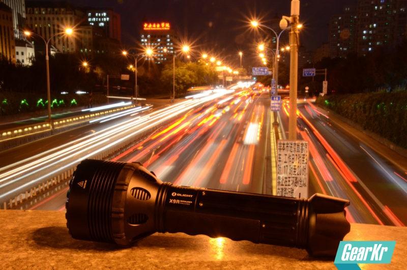 黑夜霸主 王者之光——OLIGHT 傲雷X9R MARAUDER手电体验