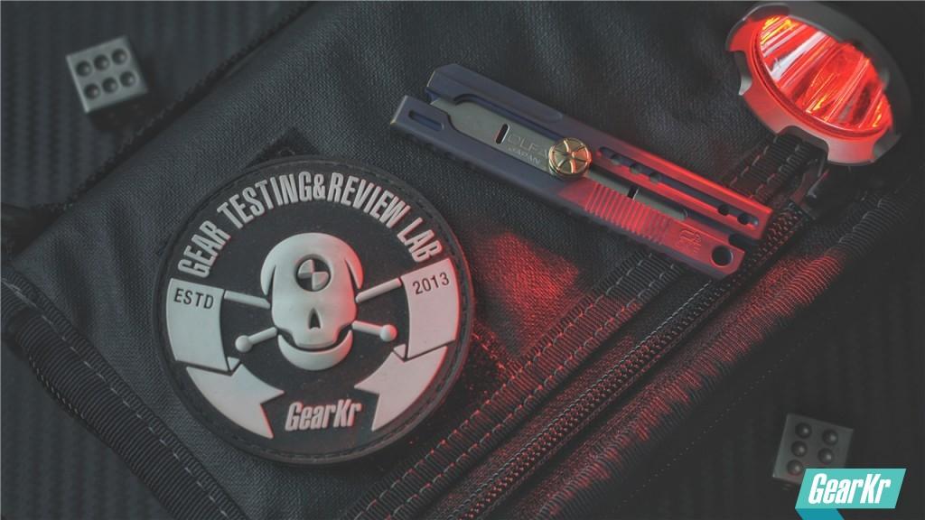 能放进钱包里的和谐切割工具 — ONE三代短款钛合金美工刀