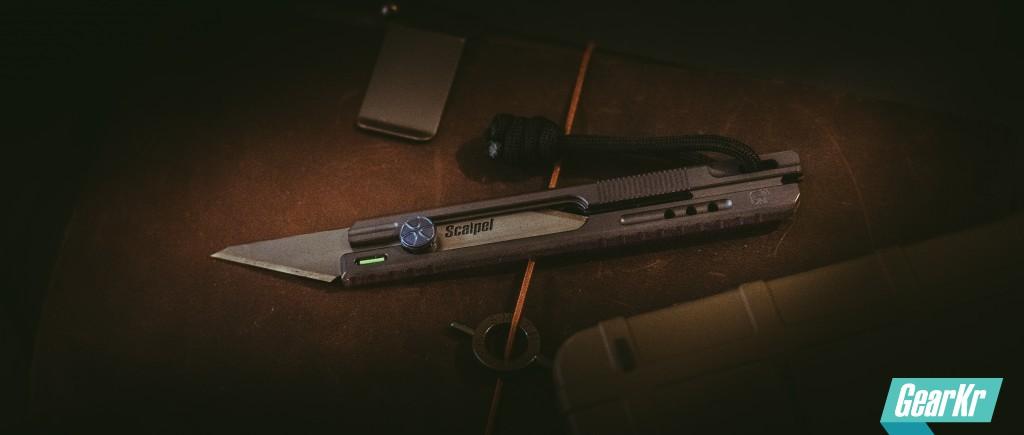 非管制刀具哪家强?ONE长款钛合金美工刀
