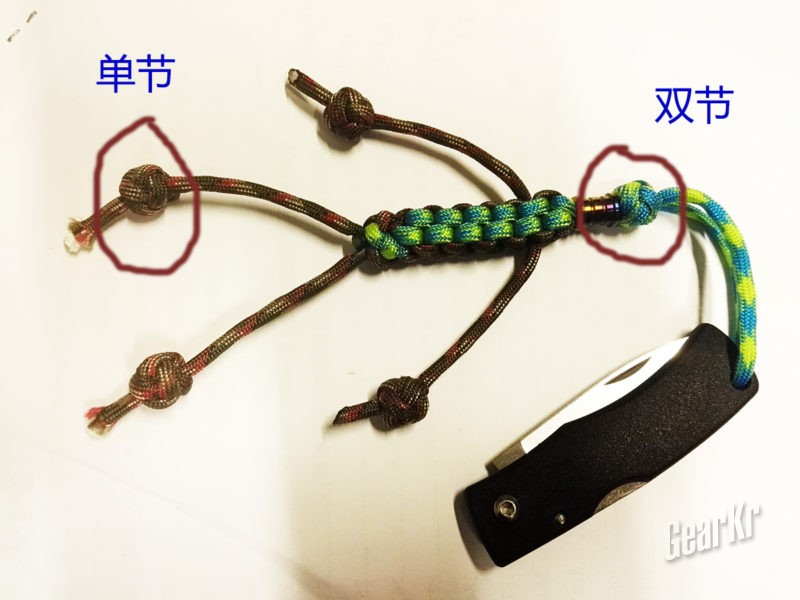 伞绳编结简单教程