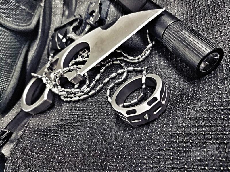 炫酷的小护卫 — 携行者钛合金戒(防身指环)测评