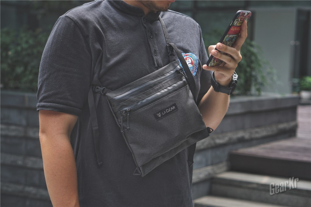 EDC小挎包也能玩跨界——Lii Gear Musette X EDC 轻量挎包