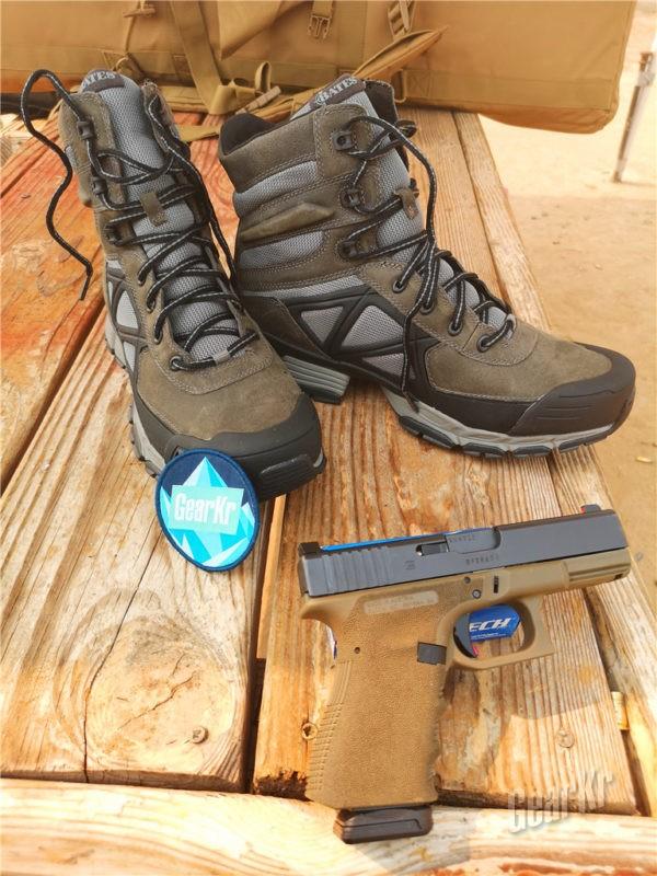 战术靴中的老司机 — 贝特斯Velocitor作战靴
