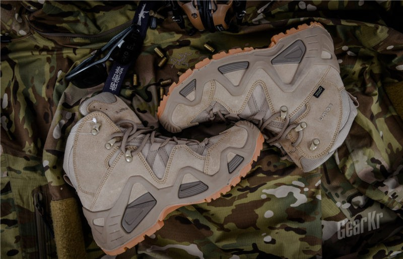 无LOWA,不以战术……Lowa Zephyr GTX Mid TF中帮战靴体验