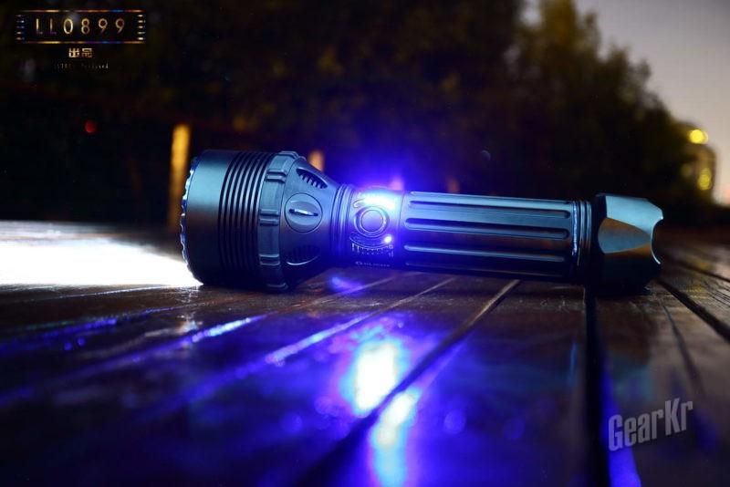 200瓦的疯狂25000流明超级光源  OLIGHT X9R完全拆解及对比测试