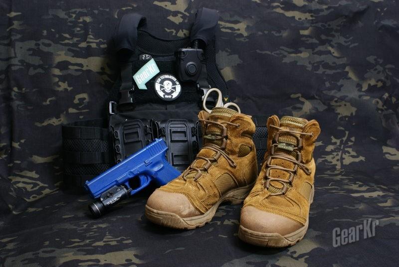 来自熊大的馈赠—鼎峰 Pointman 5寸战术靴