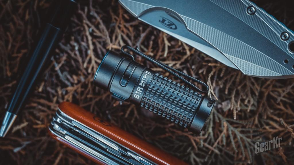 精巧,如影随形——Olight S1R II Baton评测