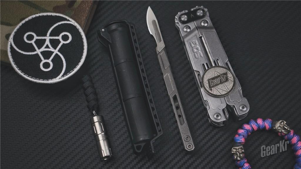 酷棍?手术刀柄!!!——TiGEAR Scalpel可拆卸式多用途手术刀柄测评