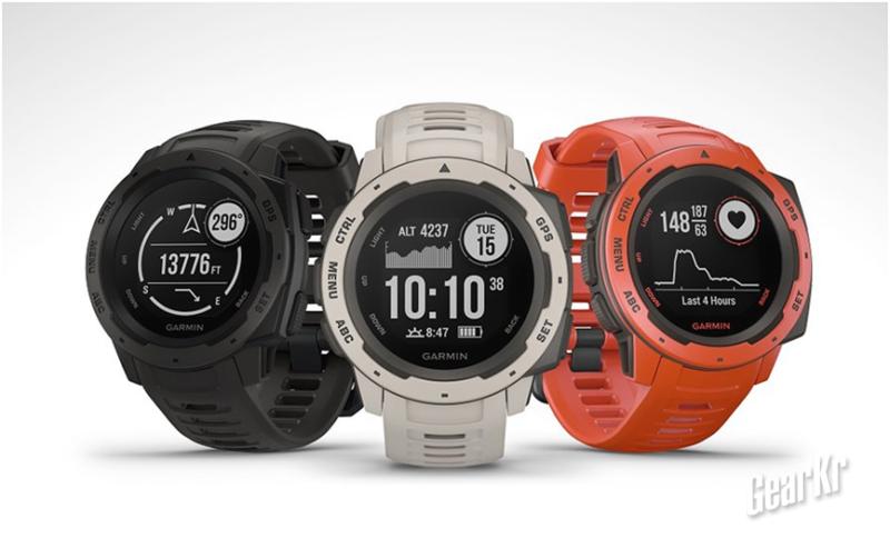 佳明instinct:300美刀以下的硬核智能手表
