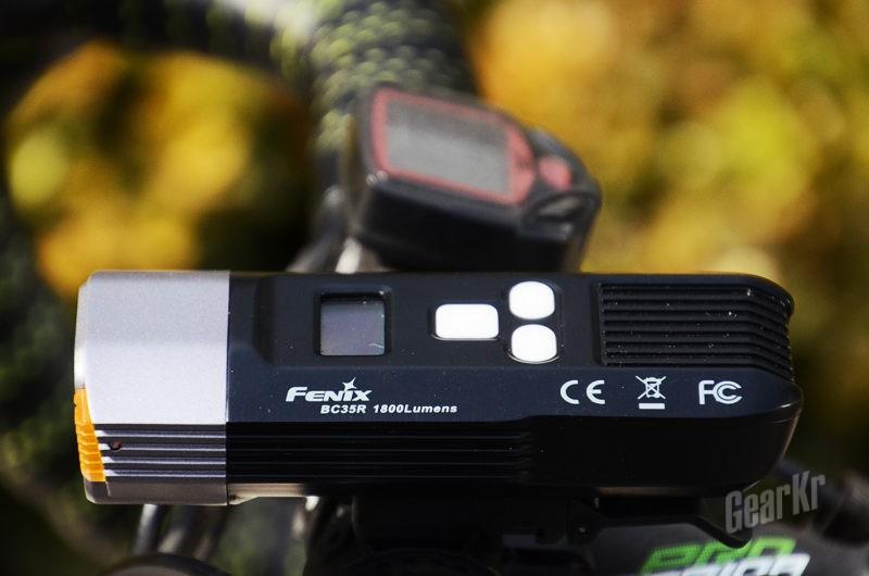 将前路照亮 为夜骑护航——FENIX菲尼克斯BC35R车灯