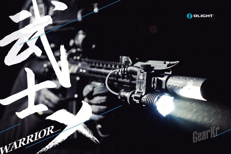 强悍的武士——Olight WARRIOR X战术强光手电