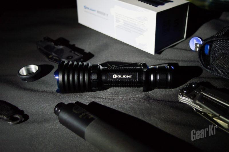 黑夜勇士—— Olight Warrior X战术手电使用感受
