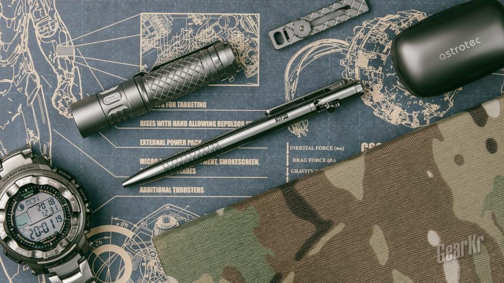 灰人的98k-NITECORE NTP30战术笔