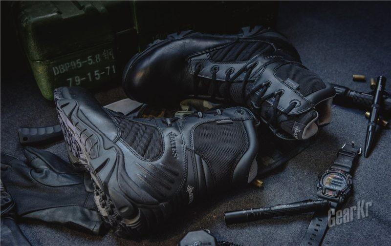战术,首先得有双保护你的鞋——Bates GX8血泪测评外观篇