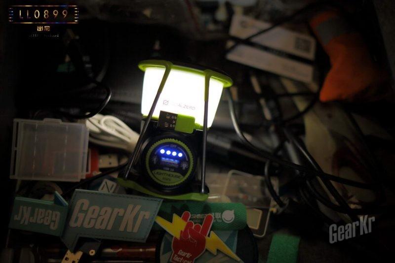即是帐篷灯也是充电宝goalzero帐篷灯评测