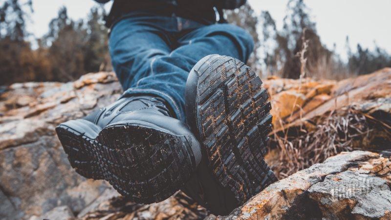 运动鞋般的战术靴穿着体验——Bates RIDE SIDE ZIP (5150) 8寸作战靴评测