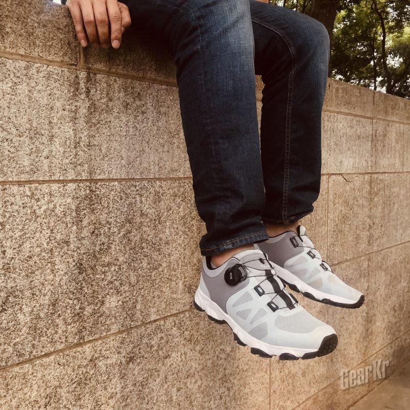除了更轻盈更透气,还有呢?-蒙特罗脉冲全地形机能鞋2.0测评