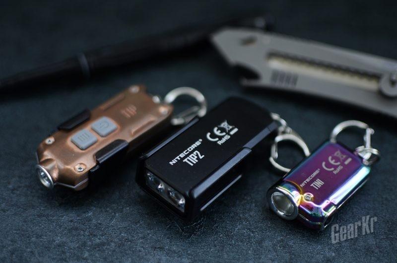 钥匙上的快拆明灯——NITECORE钥匙灯TIP2