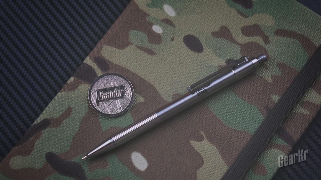 这支自动铅笔有点战术——NITECORE NTP40钛合金自动铅笔