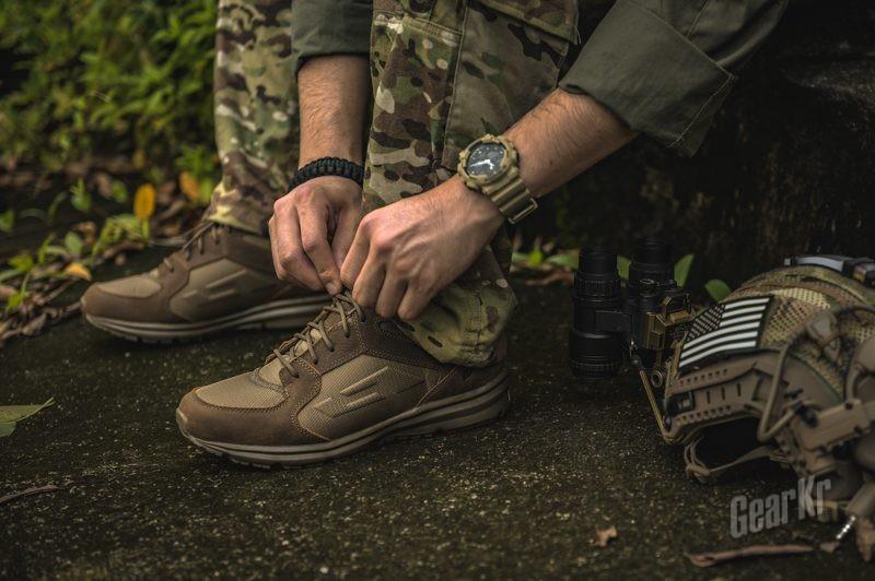 轻便透气夏日之选——Bates 特工4寸综合勤务鞋测评