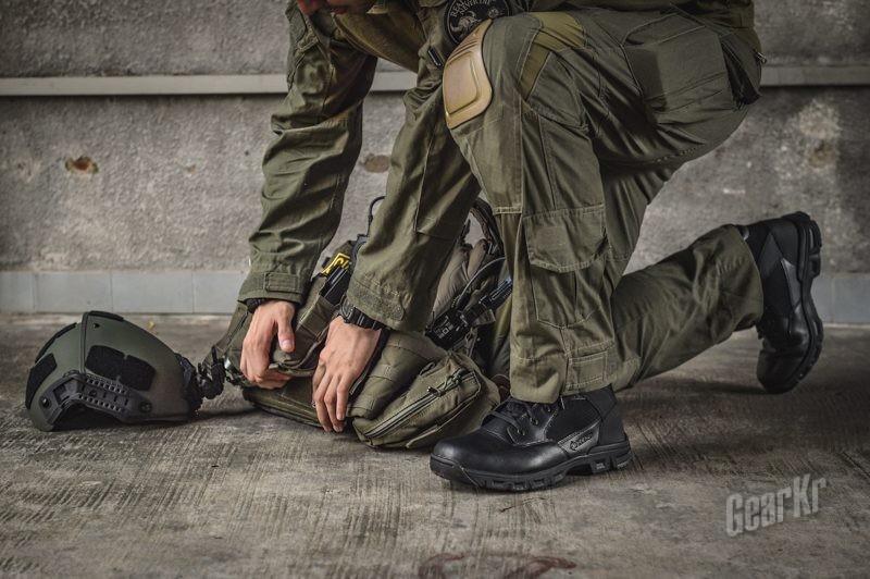 性能+舒适——bates 羽6寸中帮城市执勤作战靴测评
