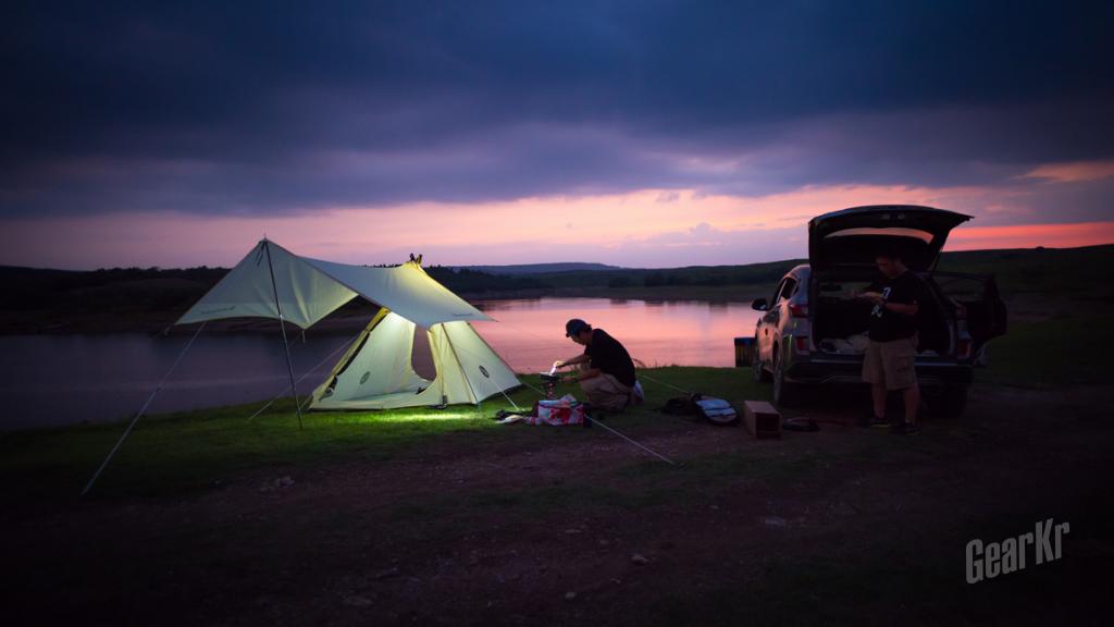 幽居户外,出彩生活——黑鹿幽居印第安组合帐篷使用感受