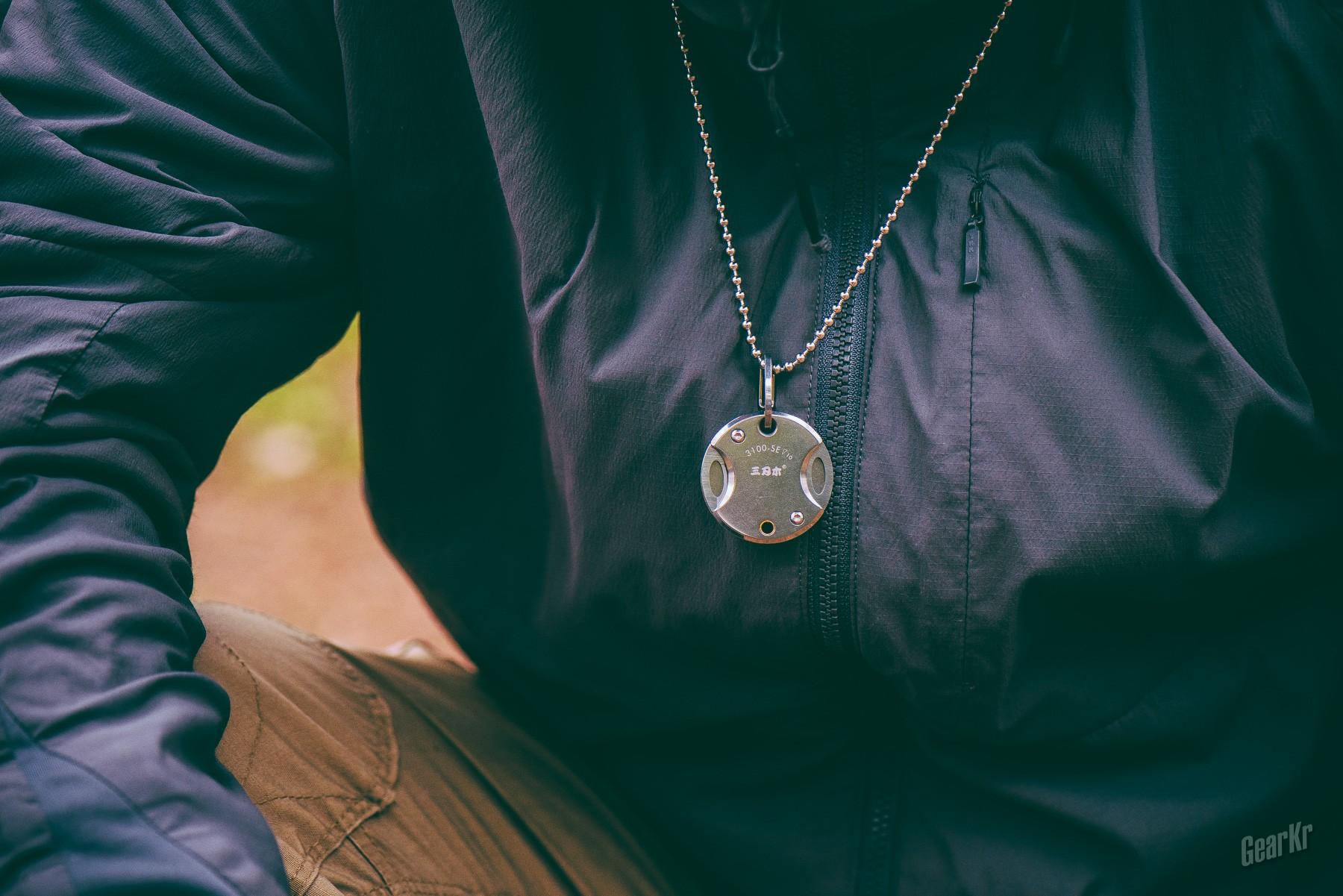 给硬币刀来点花样——三刃木3100硬币吊坠刀体验分享