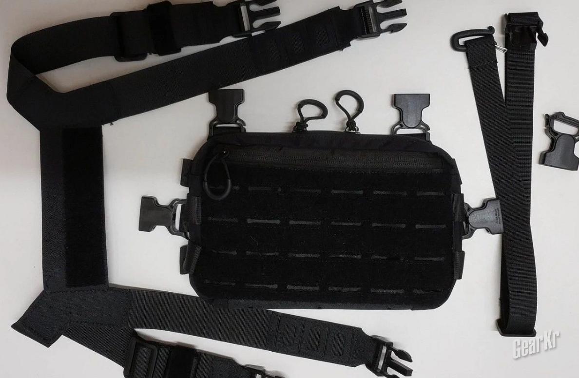 [玩家测评]战斗猴户外战术机动胸包MPCS——通勤携行具