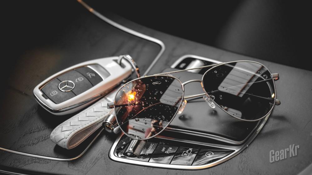 以柔克光——Keith Ti2250钛眼镜测评
