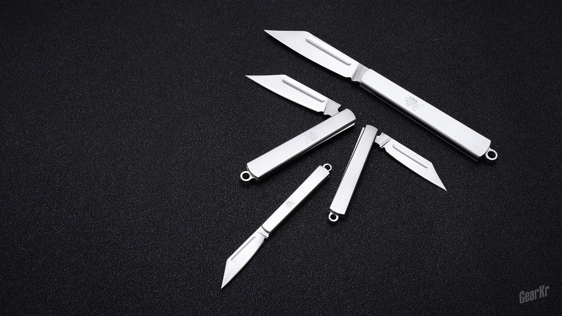 要纯粹,更要实用,还要极简风格——三刃木A系列随身小刀评测