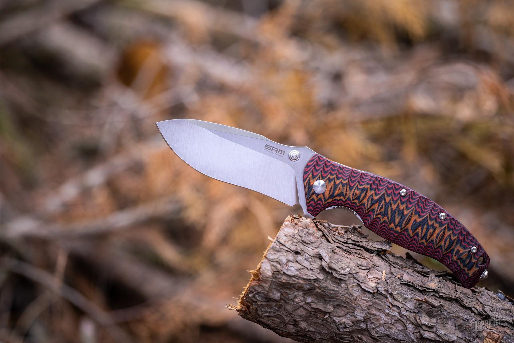 安全且强壮的户外口袋折刀——SRM 1006