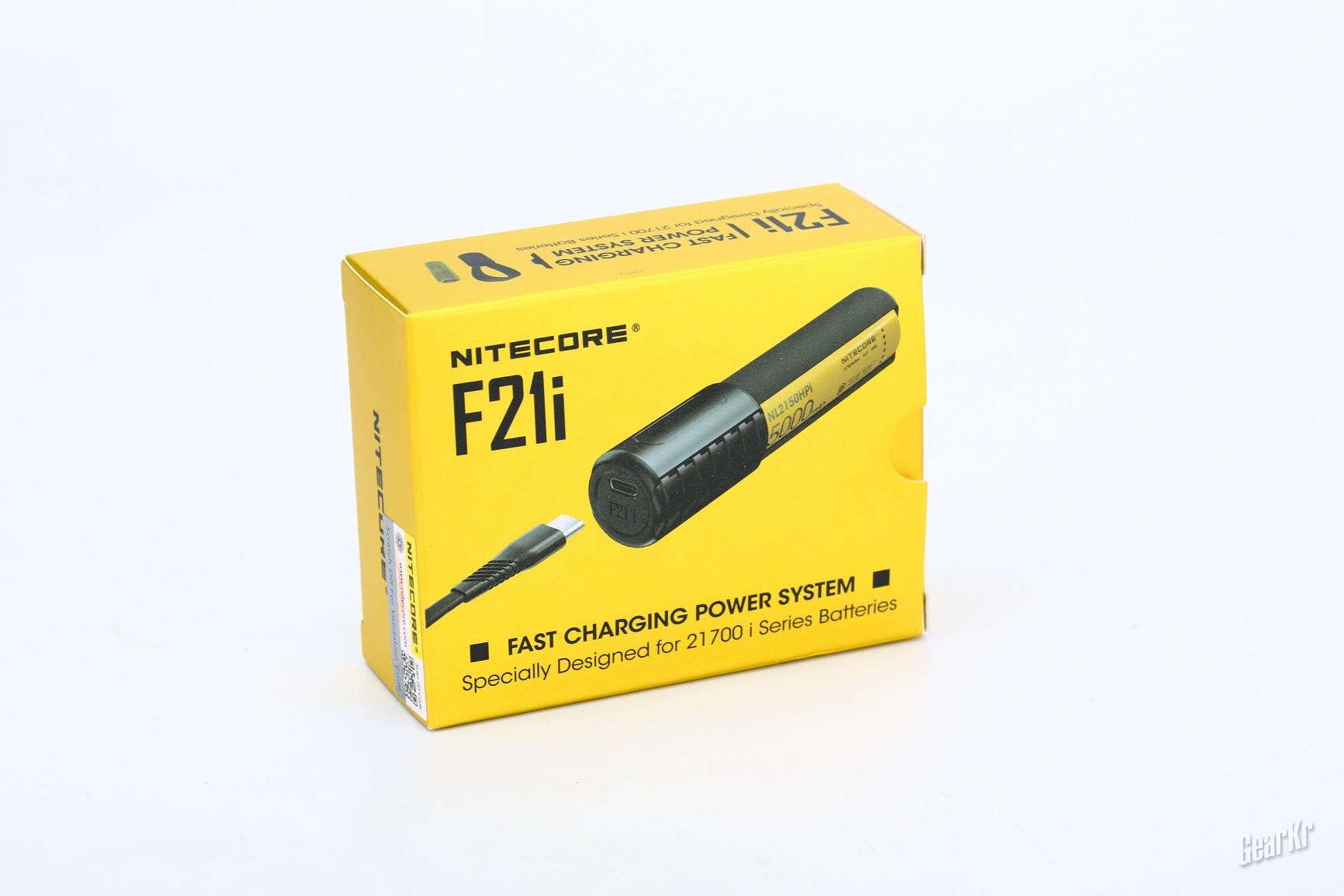 方便小巧灵活迅速 NITECORE双向充电宝F21i