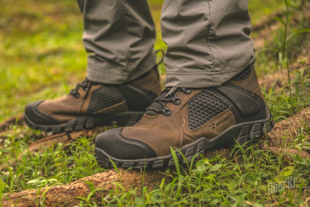 BATES SHOCK FX E07011 6寸战术靴体验